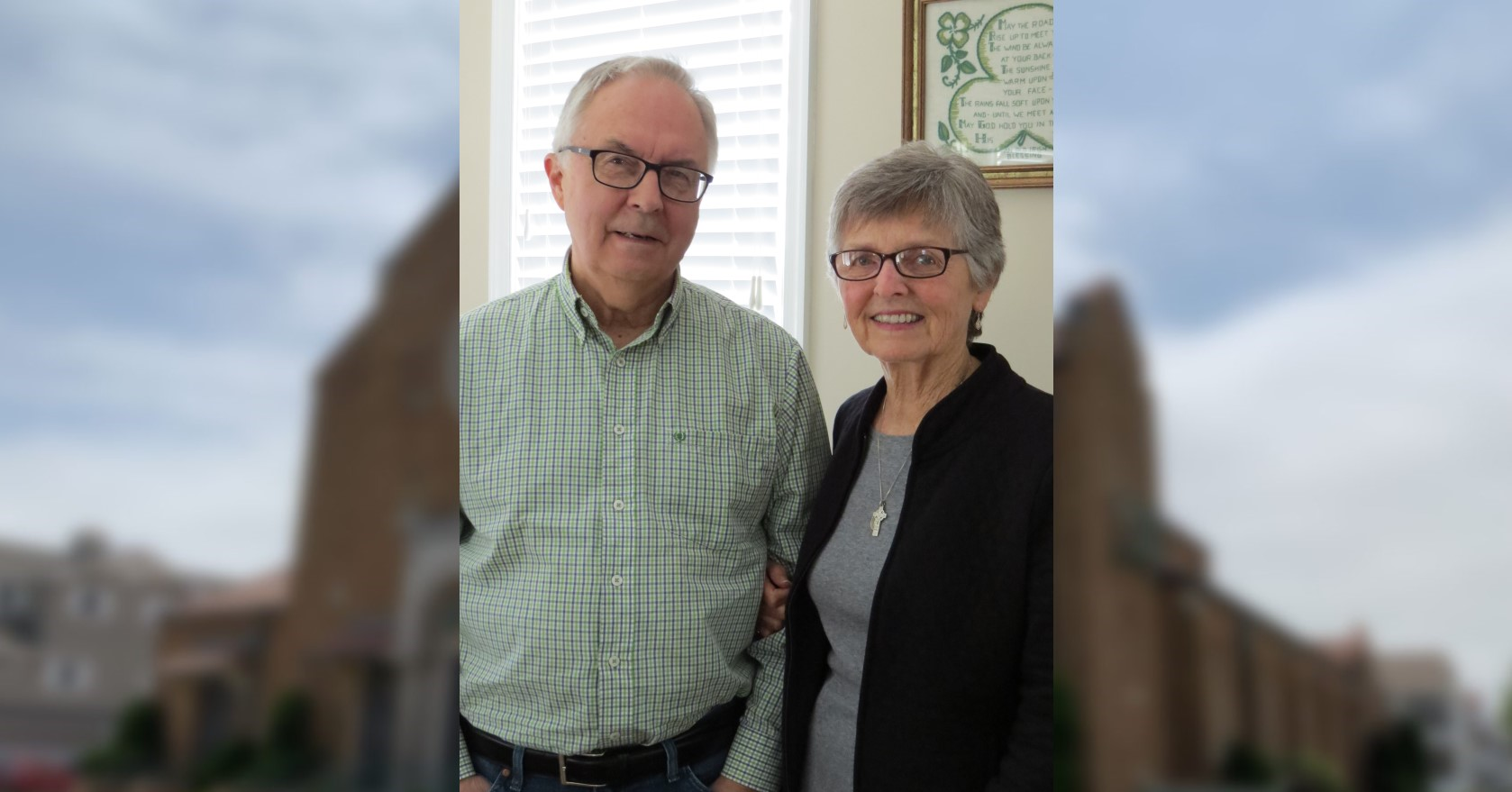 Know Your Fellow Parishioner: Ginny & Joe Sosnowsky